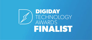 Digiday Awards Finalist