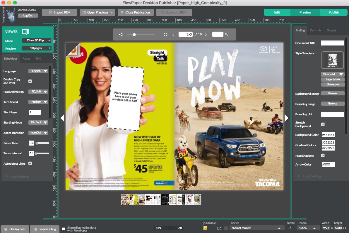 Embedding PDF documents in Wordpress | FlowPaper