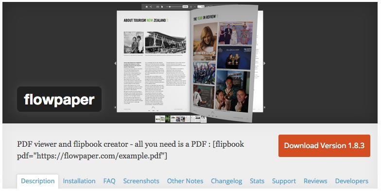Wordpress Pdf Widget
